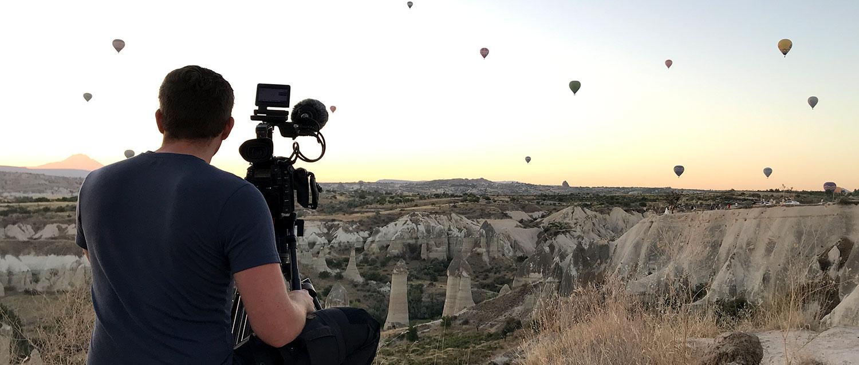 Terra X: Dreharbeiten in der Türkei und England
